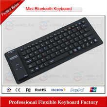 Flexible bluetooth keyboard with touchpad for iphone / ipad