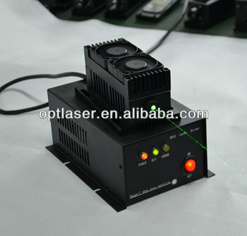 Good Stability power laser module,100mW-2000mw 473nm/520nm/532nm/ DPSS Green laser module from China Supplier.