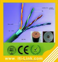 Aluminum foil type shielding ethernet cable Cat5e FTP lan cable