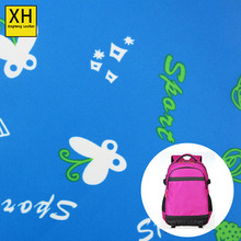 China supplier of 272 twill pvc coated printing polyester woven fabric for bags\luggage