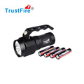 TrustFire S400 Tactical led Hand Crank Flashlight Night Flashlight