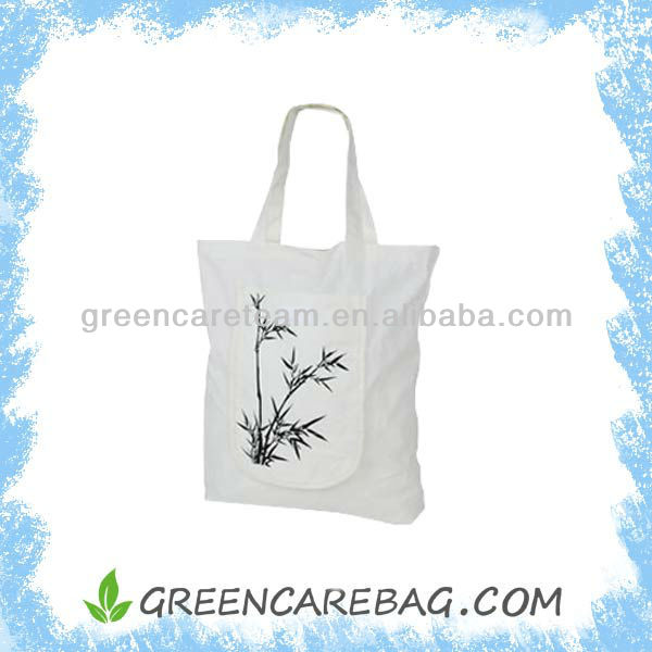 Foldable Eco friendly Bamboo Tote Bag