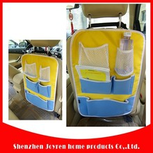 420D nice back seat car organizer for kids