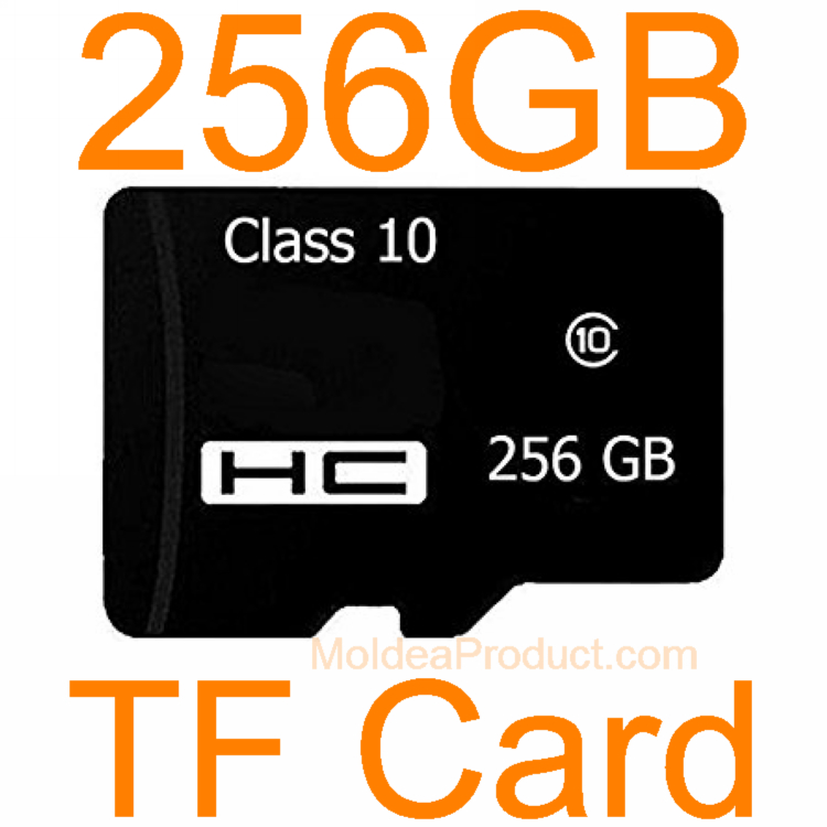 256GB Memory Card - Class 10 High Speed Transflash Card for Camera Smart Phone TF Card