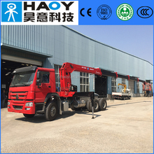 12 ton truck mounted crane with5 articulate booms factory sale