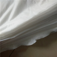 recyclable dampproof spunlace nonwoven for wet wipes using