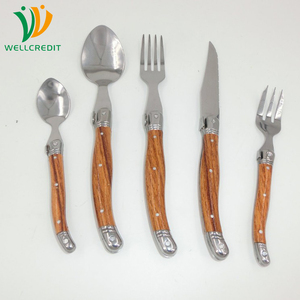 Laguiole Cutlery Set 20pcs Dinner Fork and Spoon Gift Set