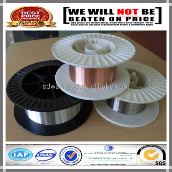 ISO astm a580 0.05mm stainless steel welding wire