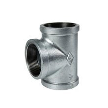 high quality BSPT THREAD Hot dipped Galvanized Malleable Iron Pipe Fitting