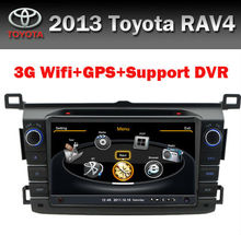 Touch Screen 8 inch Toyota RAV4 2013 Car DVD Player with GPS 3G WIFI