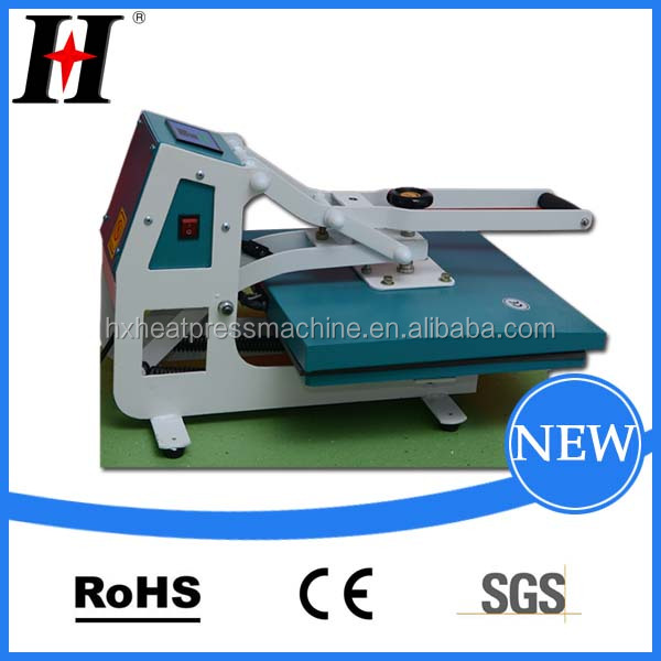 QX-AA3-A High pressure new style and design sublimation label metal plate logo printing machine