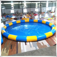 Outdoor Mobile Inflatable Pool Customized 0