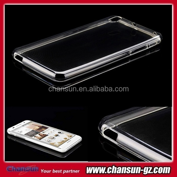 transparent soft tpu case cover for huawei ascend p6 small moq