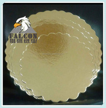 round gold silver cake board foil paper cake base