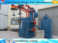 Stable working DTQ37 series shot blast machine /Y rail hanger type sand blasting machine