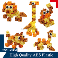 creative building set - plastic puzzles and games for kids