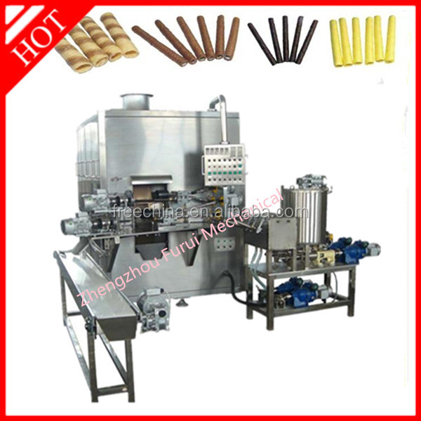 2015 hot sale snack wafer stick machine/egg roll machine/egg roll making machine