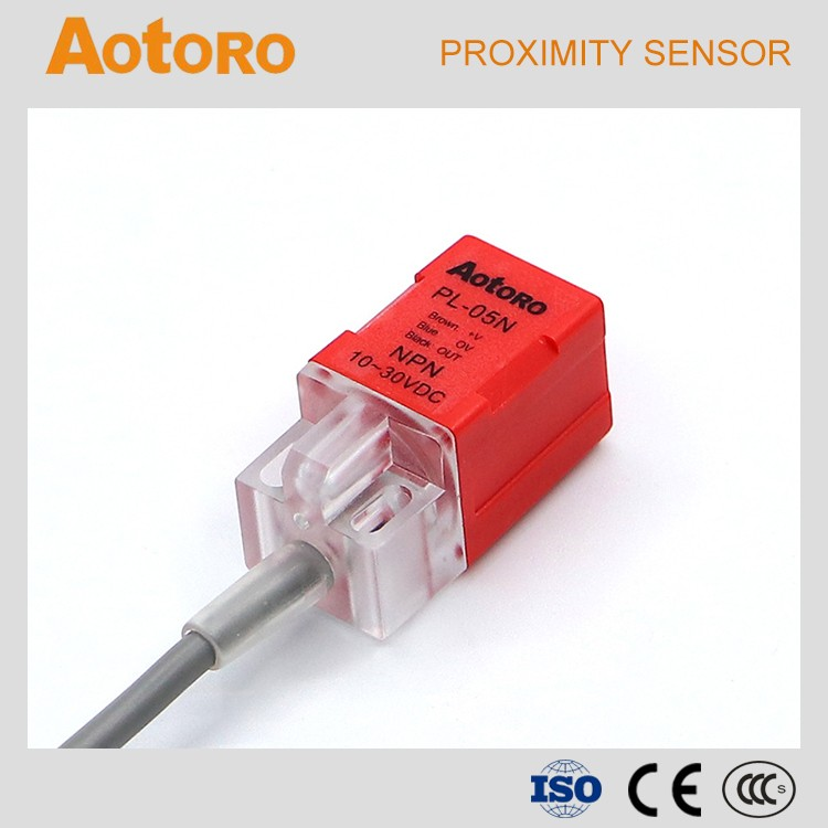 square proximity sensor PL-05N NPN NO automatic transfer switch from china manufacturer