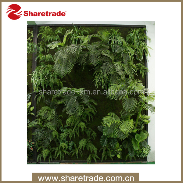 high quality plastic wall artificial vertical garden