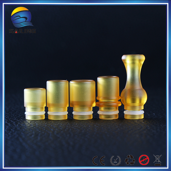 New health products 2016 PEI drip tip wholesale 510 PEI Mouthpiece cover