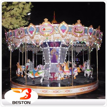 Chinese suppliers Factory price carousel horses plastic for sale