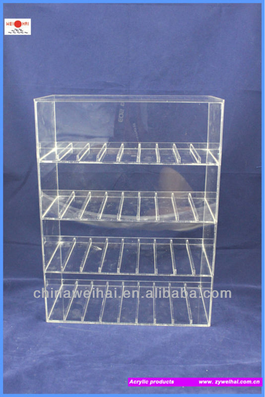 Two Tiers Acrylic Display Cadbury Chocolate Stand