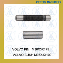 Front spring lock pin with bush for Volvo