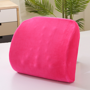 Factory Price Geometric Shape Comfort Support Back Lumbar Cushion For Bed