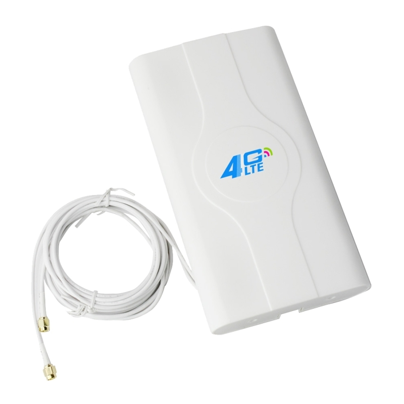 LF-ANT4G01 Indoor 88dBi 4G LTE MIMO <strong>Antenna</strong> with 2 PCS 2m Connector Wire, SMA Port