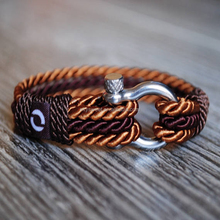 Luxurious Rope Bracelet, Twisted Cord Bracelet, Decorative Bracelet for Men