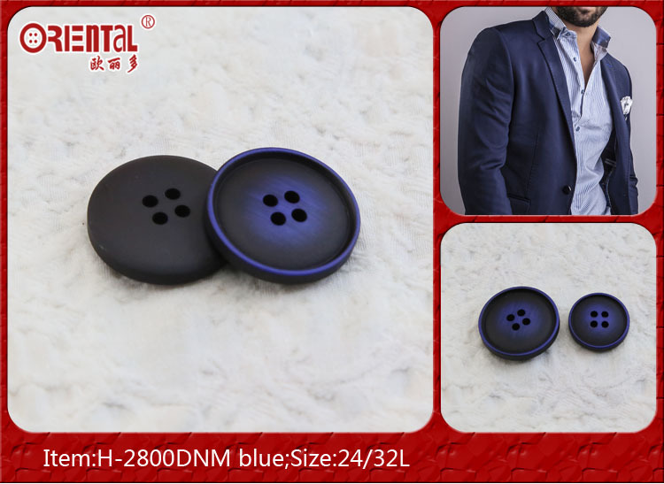 4 hole small rim suit buttons