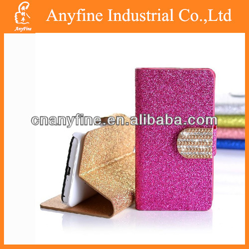 Glitter diamond leather case for Samsung note 3 N9000