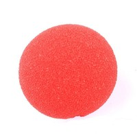 Masquerade Party Sponge Ball Red Clown Magic Nose For Birthday Party and Halloween and Christmas Special Props Clown nose