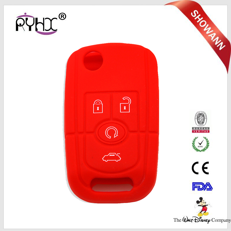 Remote Key shell Protective Hard Case Cover Remote for Buick Fob <strong>silicone</strong> factory