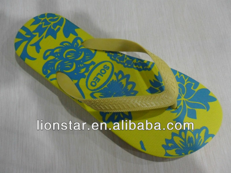 2014 Ladies cheap wholesale plain flip flop for sale