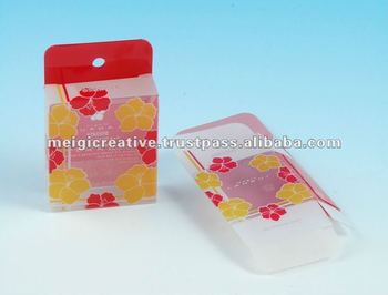 Plastic Foldable Hanging Box with Logo