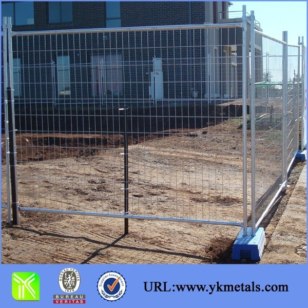Building Materials of Temporary swimming pool fence