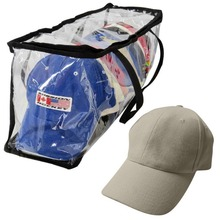 PVC Case Baseball Cap Storage Bags Hats Racks Packaging
