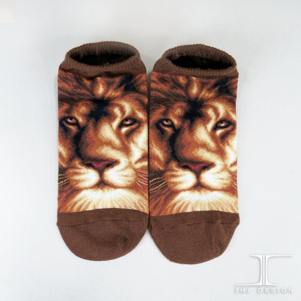 3D Animal Lion Ankle Socks/celebrate dresses socks