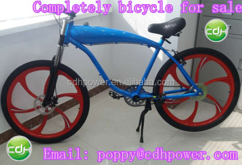 motorized bicycle for sale, bicycle frame with gas tank built, 80cc bicycle engine kit