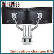Think Wise K200 Innovative Gas Spring Dual LCD Monitor Desktop Arm Stands