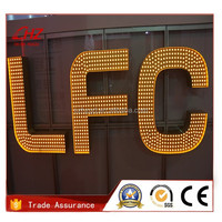 diy 3d high bright letter outdoor indoor illuminated led sign