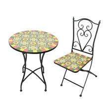 Classic Outdoor Mexican Design Birstro Sets Mosaic Garden Furniture