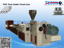 China pvc cable wiring extruder
