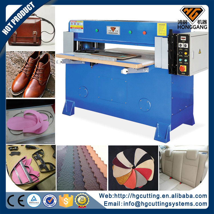 hot sale plane hydraulic Raw Material rubber cutting machine