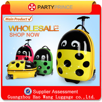 Best Quality Partyprince Colorful Kids Hard Shell Luggage For Travel