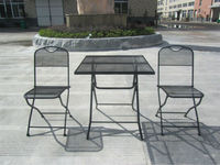 super market quality outdoor morden metal mesh patio furniture, garden metal mesh furniture sets