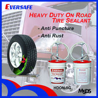 Hangzhou Eversafe 5 Gallons of Cargo Truck Tire Sealant with Pump High Quality and Ecofriendly (HDON-5G)