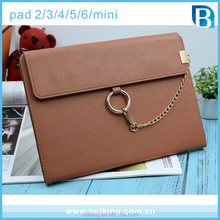 Luxury For Ipad Mini 1 2 3 4 Handbag Leather Case Shoulder Bag For Ipad Air Tablet