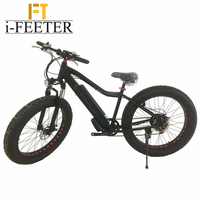 i-feeter High Quality Fat Tire Electric Mountain Bike/snow Bike/electric Bicycle 2017